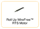 Roll Up WireFree RTS Motor